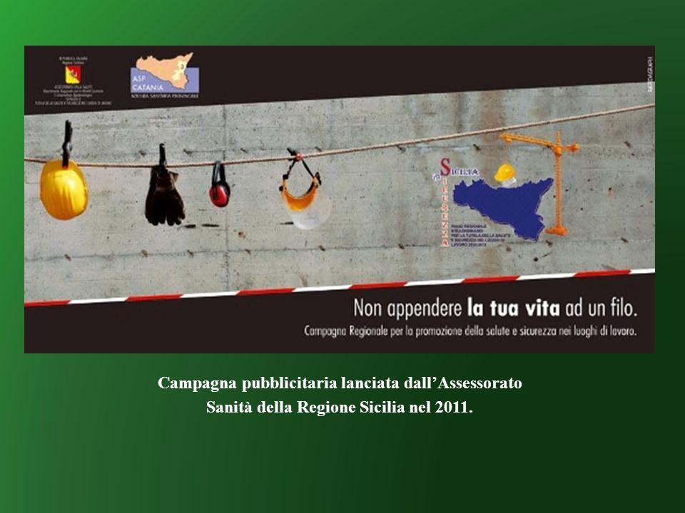 Campagna pubblicitaria lanciata dall'Assessorato Sanità della Regione Sicilia nel 2011.