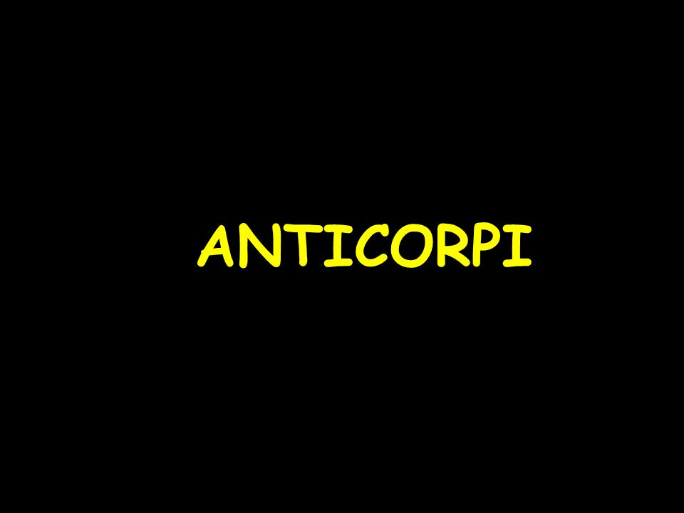 ANTICORPI