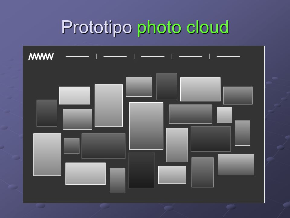Prototipo photo cloud
