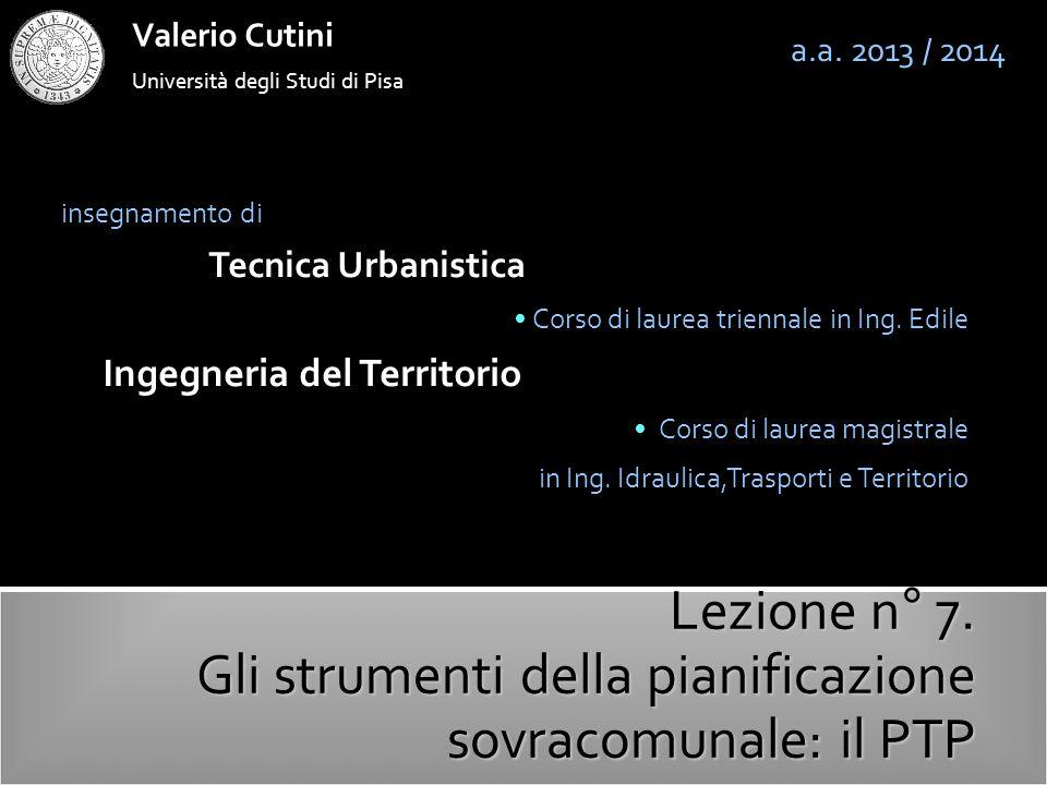 valerio cutini Il DL 42/2004: il Codice dei Beni Culturali e del Paesaggio a.a.