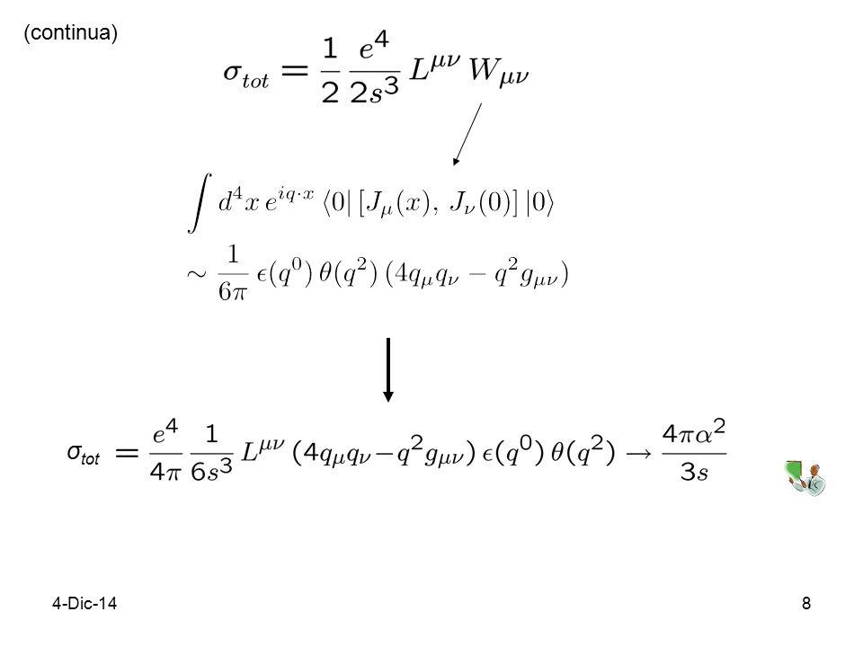 4-Dic-148 (continua) σ tot