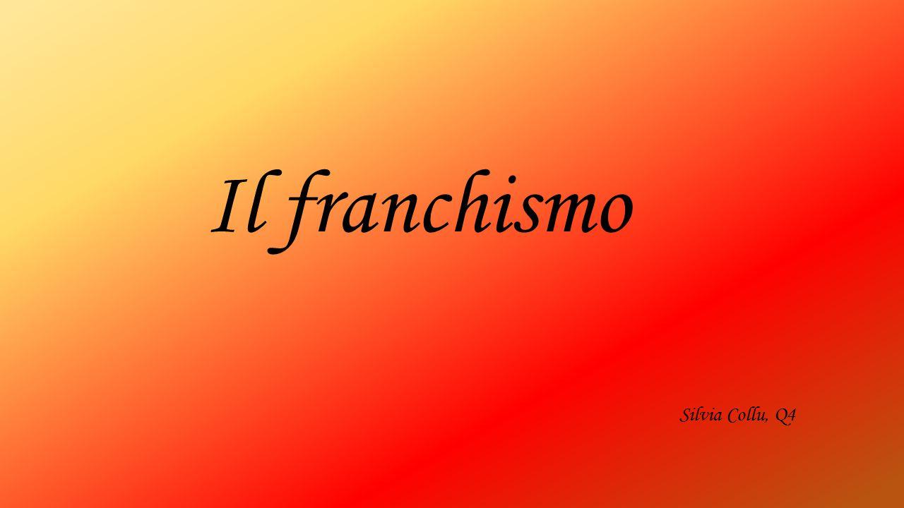 Il franchismo Silvia Collu, Q4