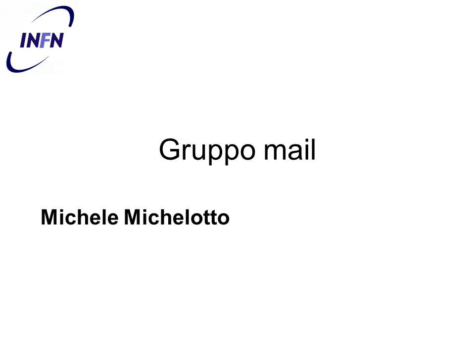 Gruppo mail Michele Michelotto