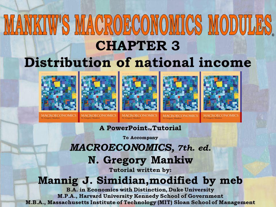 Chapter Eighteen12 L PML=W/P L Equilibrio sul mercato del lavoro PMK=R/P K K Equilibrio sul mercato dei beni capitali Offerta fissa di L.