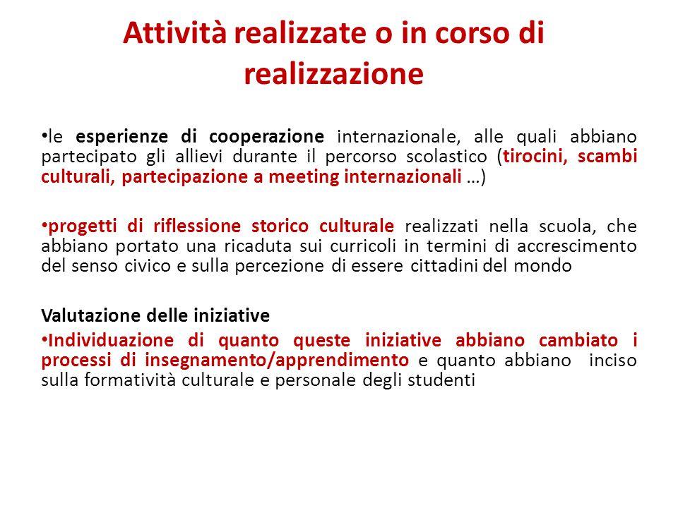 L'internazionalizzazione è Una condizione essenziale di competitività per le aziende e più in generale per il sistema- paese Una crescita dei diritti di cittadinanza, dei percorsi di mobilità individuale e di consapevolezza interculturale Un'opportunità di crescita per le scuole, in termini di conoscenza, di scambio di esperienze, di confronto con altre modalità di organizzazione