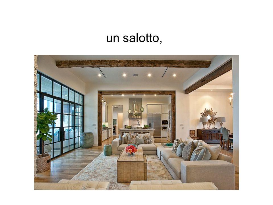 un salotto,