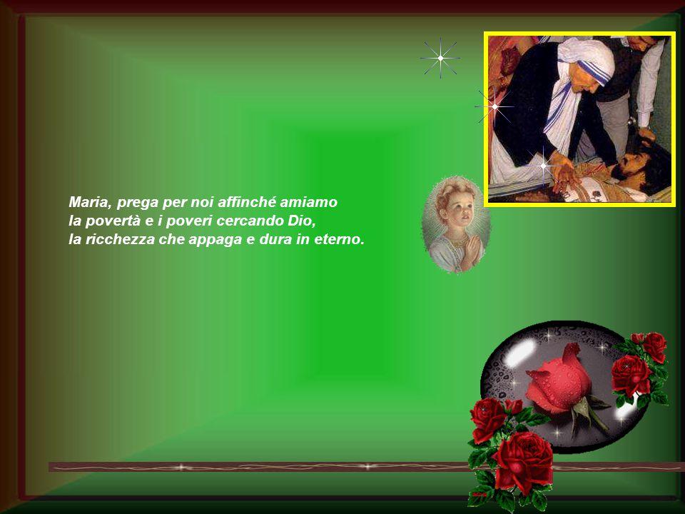 Rendici puri nel cuore per vedere, o Maria! E dona alle nostre famiglie la perla della fedeltà e la letizia dei figli accolti, amati e aperti alla luc