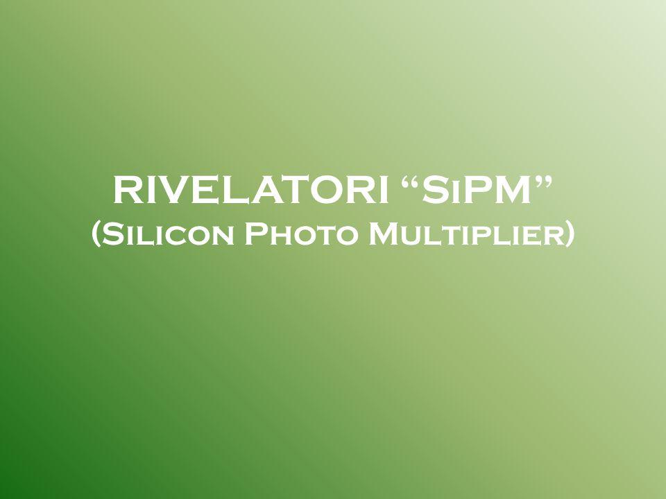 I rivelatori da noi utilizzati sono SIPM, costituiti da una griglia di pixel.