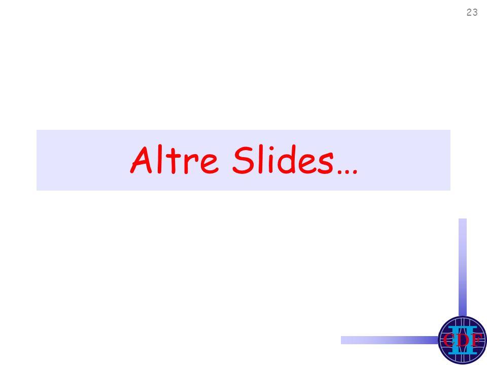23 Altre Slides…
