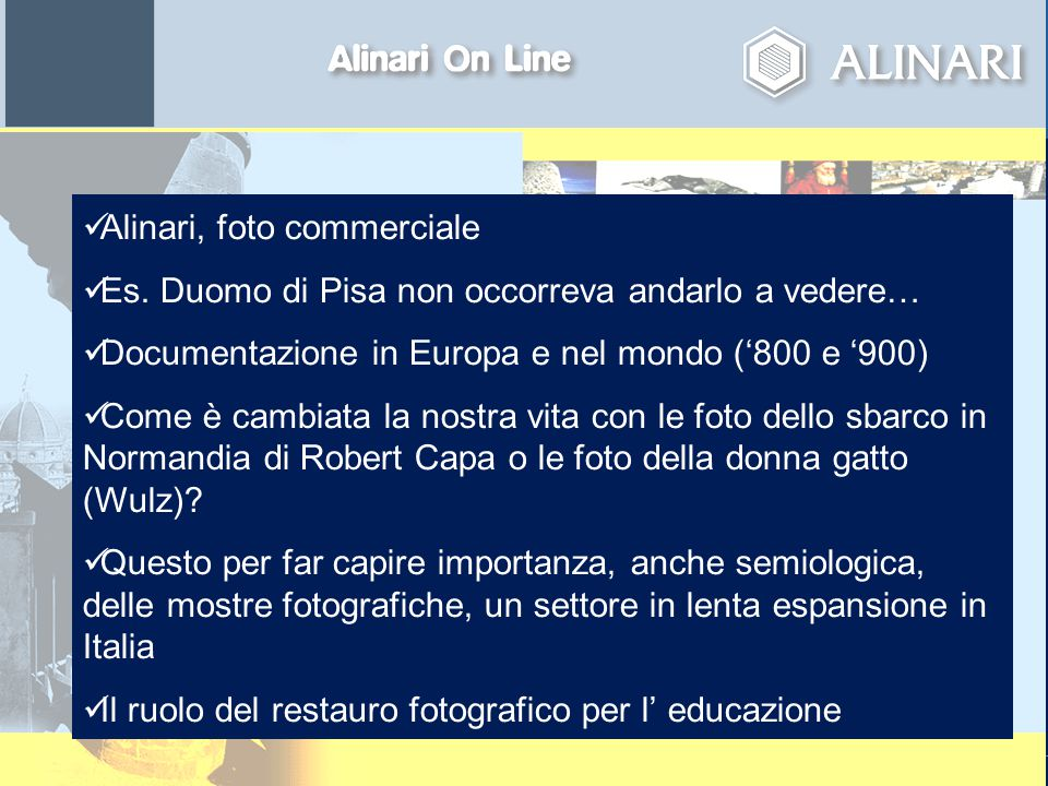 page 2April 23, 2015 Alinari, foto commerciale Es.