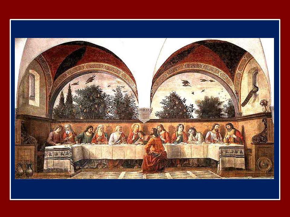 Chi mangia la mia carne e beve il mio sangue ha la vita eterna e io lo risusciterò nell'ultimo giorno.