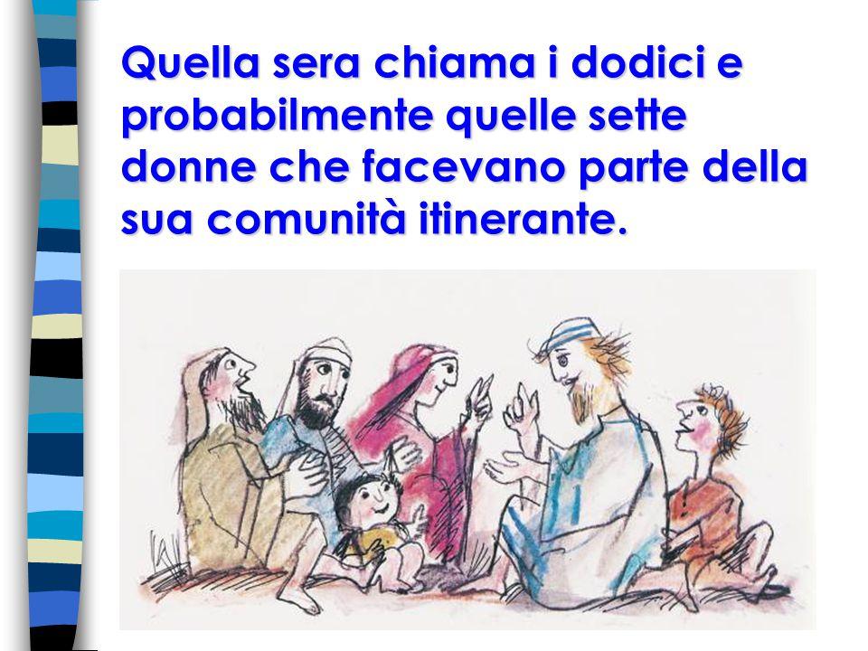 E poi viene l ora per Gesù di fare un ultimo banchetto, l ultima cena poco prima di morire, quando ormai sa che lo verranno a prendere, che sarà ucciso e che tutti saranno contro di lui.