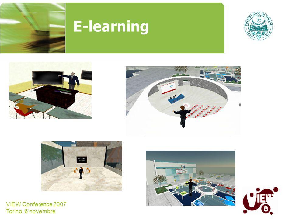 VIEW Conference 2007 Torino, 6 novembre HMI/HCI