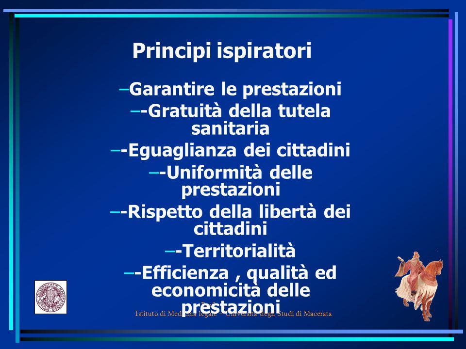 Sistema sanitario sanitario  I processi di prevenzione ed educazione sanitaria  I processi di diagnosi  I processi di cura  I processi di riabilitazione