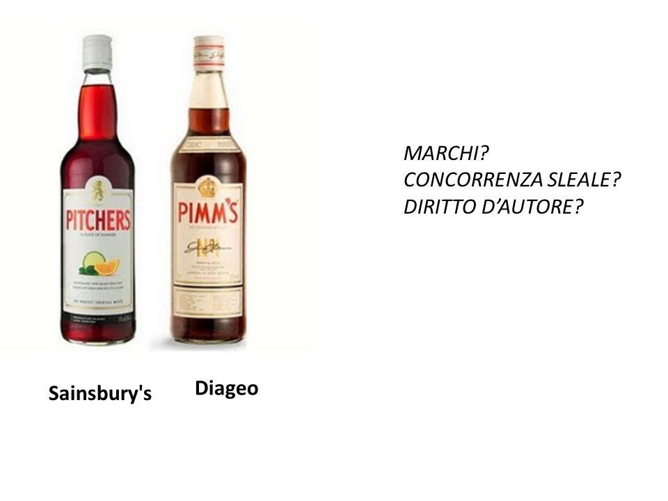 Diageo Sainsbury s MARCHI CONCORRENZA SLEALE DIRITTO D'AUTORE
