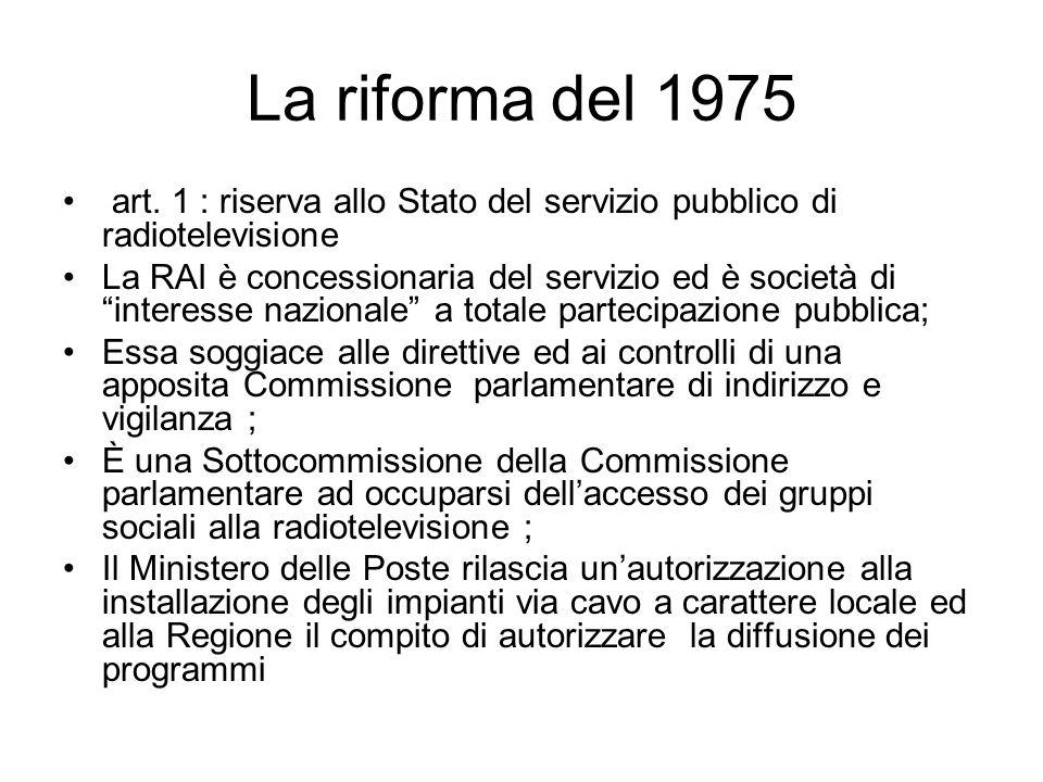 La riforma del 1975 art.