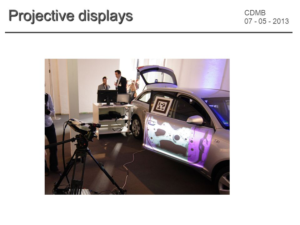 CDMB 07 - 05 - 2013 Projective displays