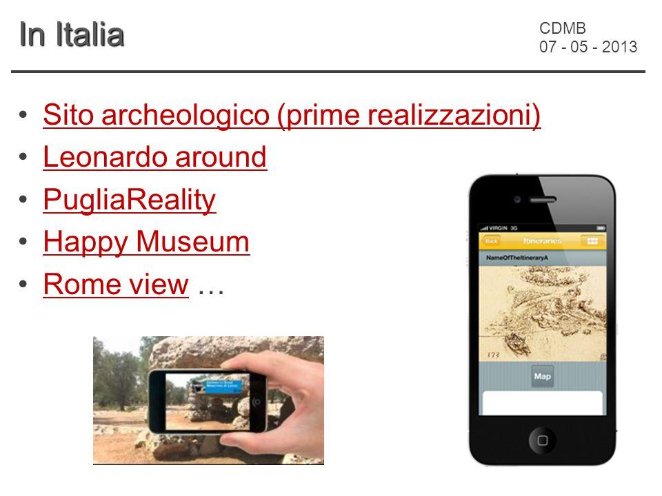 CDMB 07 - 05 - 2013 In Italia Sito archeologico (prime realizzazioni) Leonardo around PugliaReality Happy Museum Rome view …Rome view