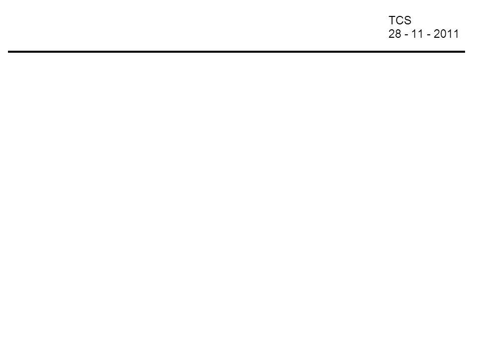 TCS 28 - 11 - 2011