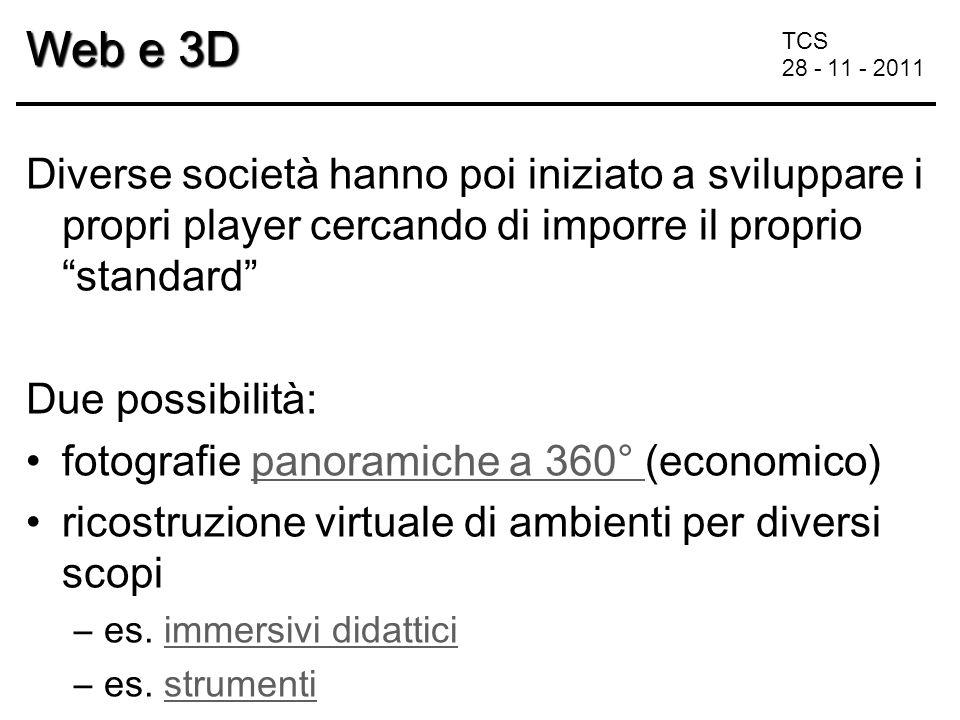 TCS 28 - 11 - 2011 In Italia e-commerce 3D : www.esimplestudios.com www.ultramundum.it/italia/index.htm