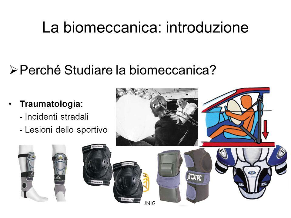 A.Fusco UNIGE 2013 La biomeccanica: introduzione  Perché Studiare la biomeccanica.
