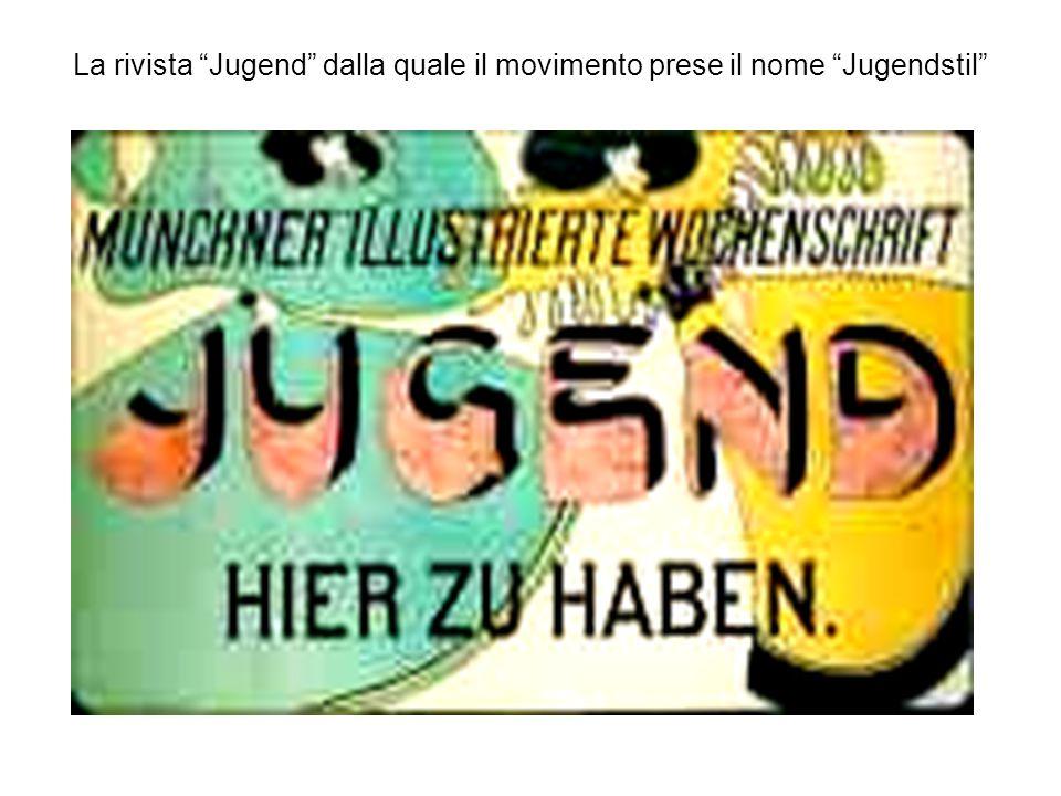 La rivista Jugend dalla quale il movimento prese il nome Jugendstil