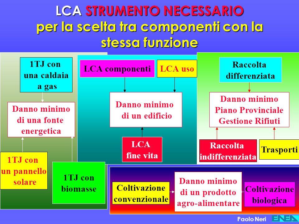 La valutazione del danno ambientale Paolo Neri