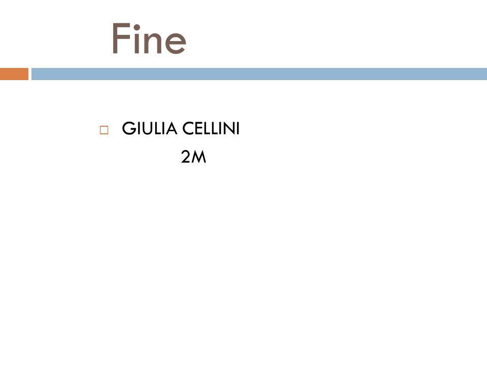 Fine  GIULIA CELLINI 2M
