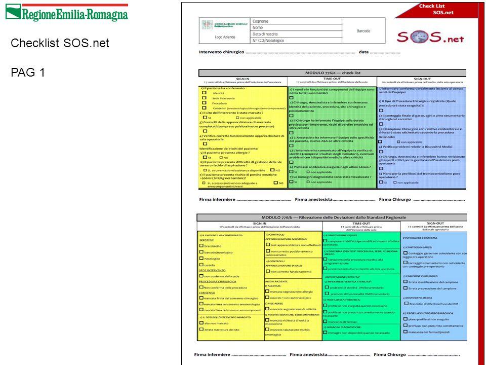 Checklist SOS.net PAG 1