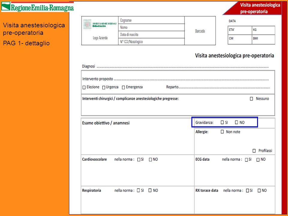Scheda di valutazione TEV in paziente adulto chirurgico PAG 1 - dettaglio