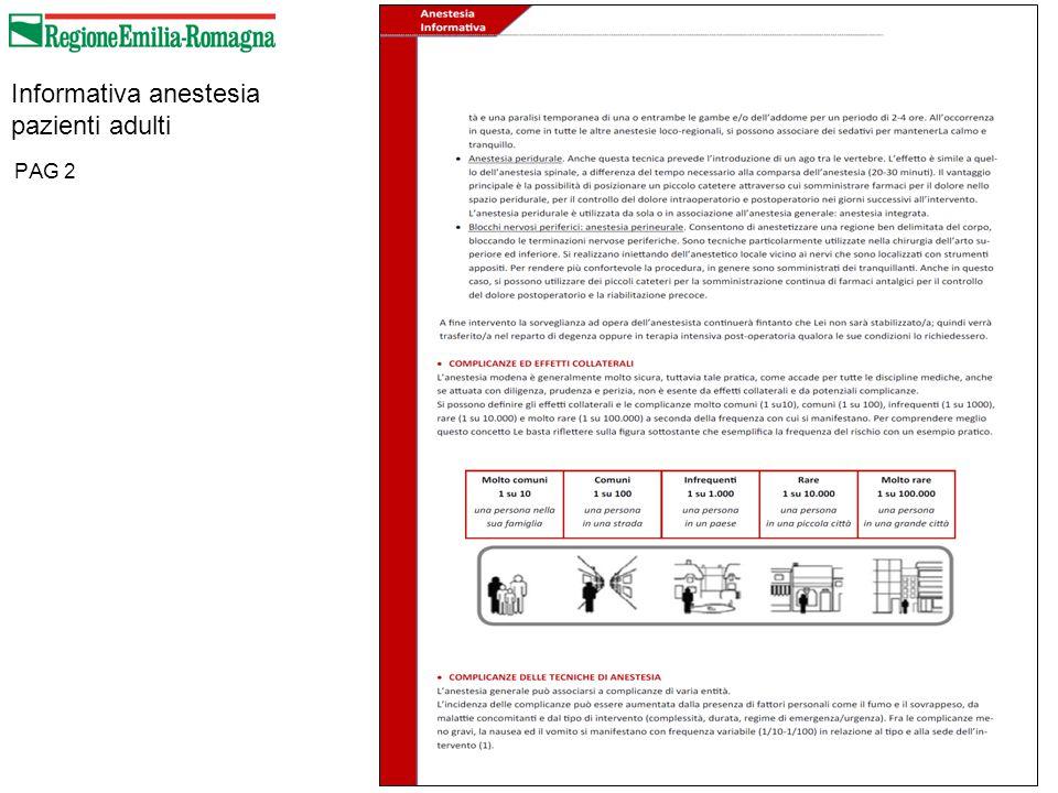 Informativa anestesia pazienti adulti PAG 2