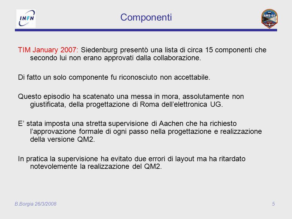 B.Borgia 26/3/20086 QM to QM2……..