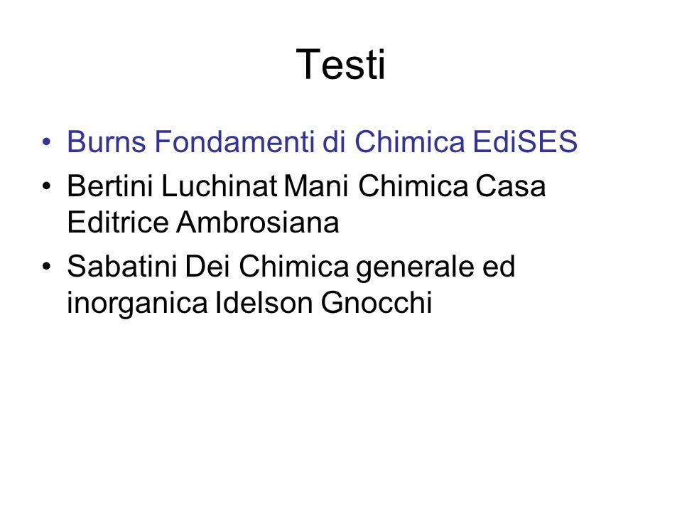 Sito web ftp://lamm21.chim.unifi.it/pub/Corso_ga tteschi_Dei/ftp://lamm21.chim.unifi.it/pub/Corso_ga tteschi_Dei/ Presentazioni.ppt delle lezioni