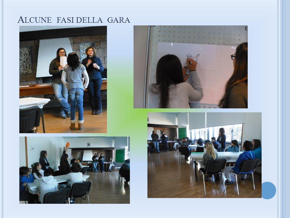 I vincitori sono stati i membri della squadra verde: ANDREA CATERINA BONIFACINO classe 1^ B ADRIANO INVERNIZZI classe 1^ B MARTA MONETA classe 1^ A GIULIA TARCHINI classe 2^ A