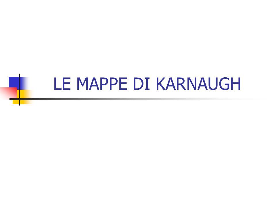 LE MAPPE DI KARNAUGH