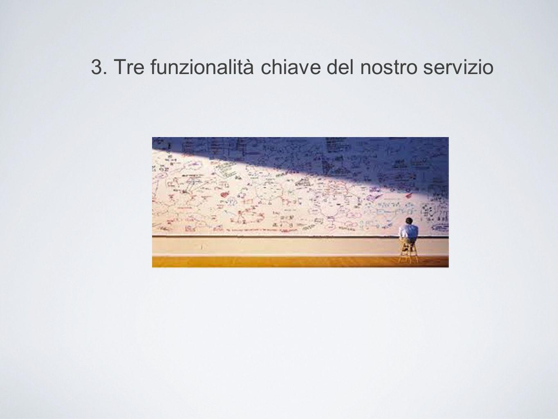 3. Tre funzionalità chiave del nostro servizio