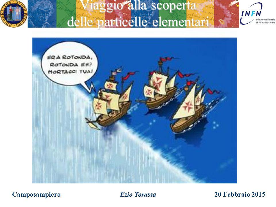 20 Febbraio 2015Camposampiero Ezio Torassa Viaggio alla scoperta delle particelle elementari