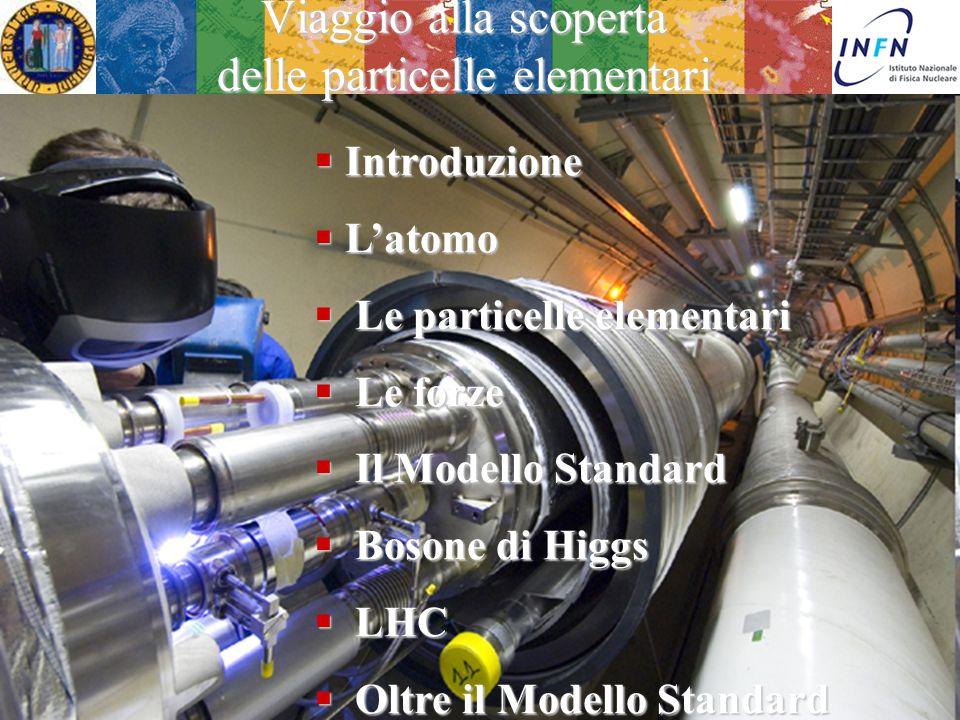 20 Febbraio 2015Camposampiero Ezio Torassa Viaggio alla scoperta delle particelle elementari  Introduzione  L'atomo  Le particelle elementari  Le forze  Il Modello Standard  Bosone di Higgs  LHC  Oltre il Modello Standard
