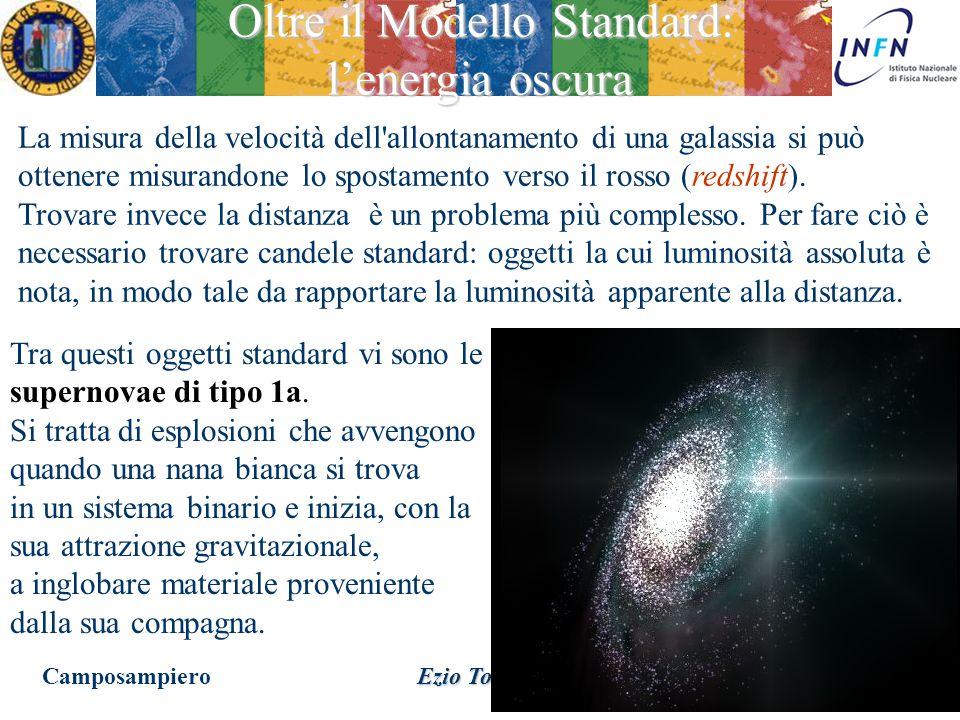 20 Febbraio 2015 Ezio Torassa Due galassie che distano tra loro un angolo , nel caso di espansione dell'universo a velocità costante v r si allontan