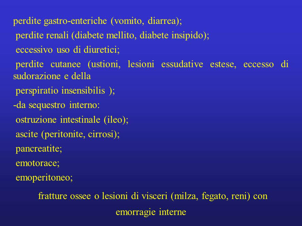 SHOCK NEUROGENO Etiopatogenesi.
