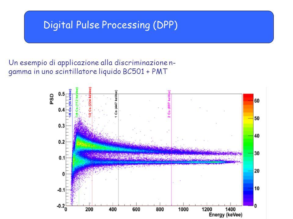 Digital Pulse Processing (DPP) Un esempio di applicazione alla discriminazione n- gamma in uno scintillatore liquido BC501 + PMT