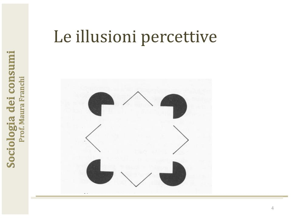 4 Le illusioni percettive