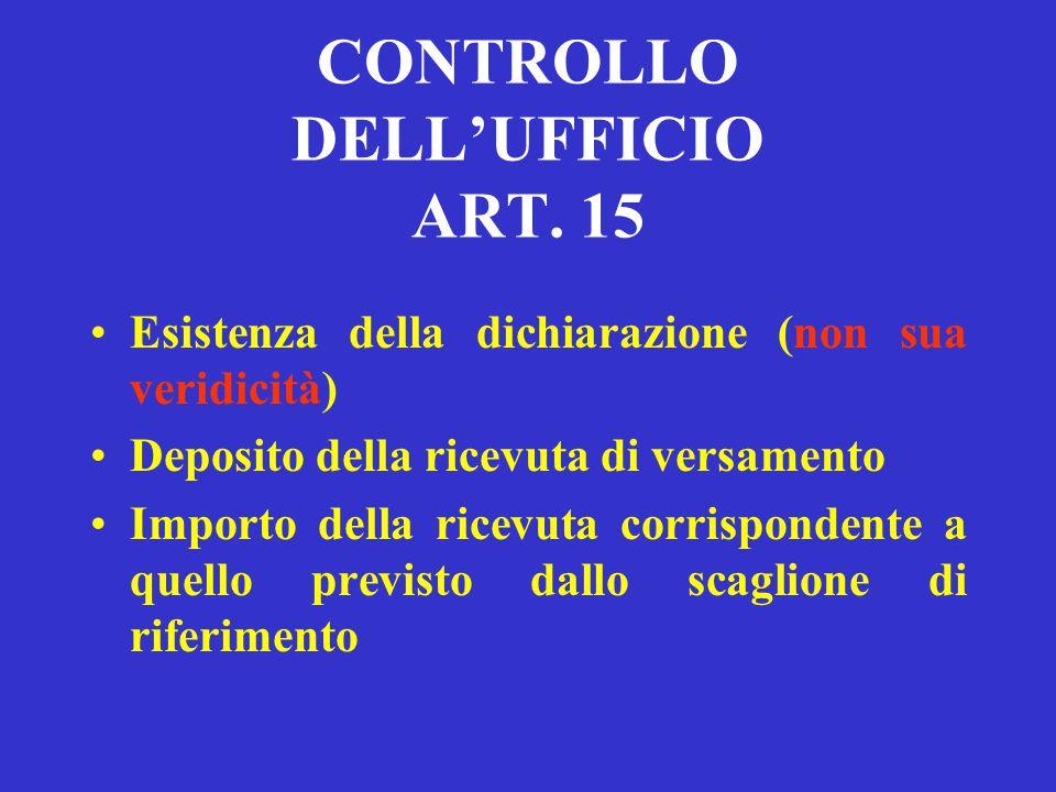 DICHIARAZIONE DI VALORE ART. 14 DEVE ESSERE FATTA DALLA PARTE CON APPOSITA DICHIARAZIONE RESA NELLE CONCLUSIONI DELL'ATTO INTRODUTTIVO DEL GIUDIZIO