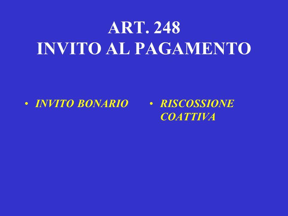 PAGAMENTO – ART. 192  Versamento ai Concessionari tramite Mod. F23 ;  Versamento in conto corrente postale;  Versamento presso le rivendite di gene