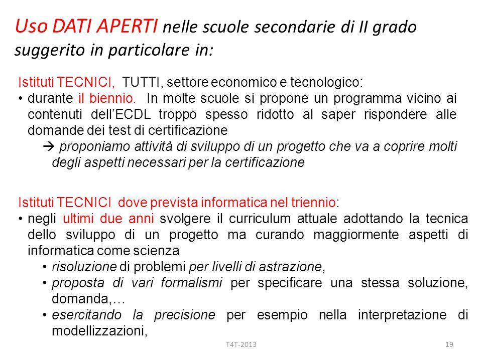 Istituti TECNICI, TUTTI, settore economico e tecnologico: durante il biennio.