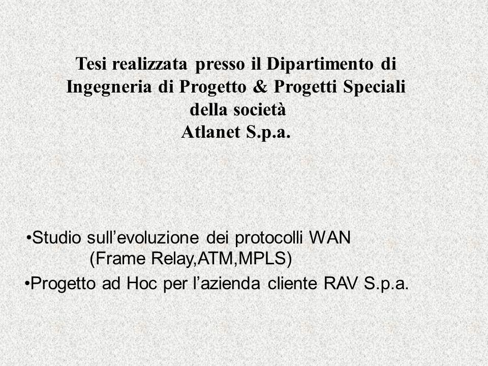 Progetto ad Hoc per l'azienda cliente RAV S.p.a.