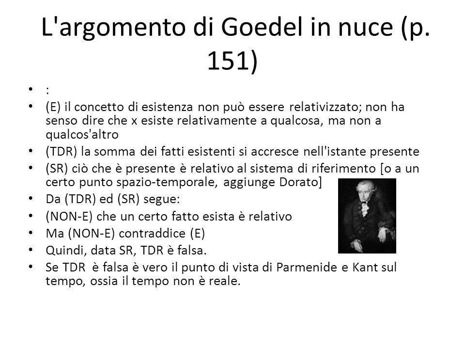 L argomento di Goedel in nuce (p.