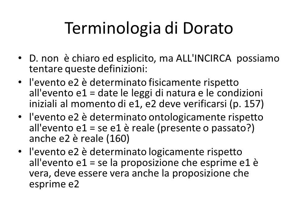 Terminologia di Dorato D.