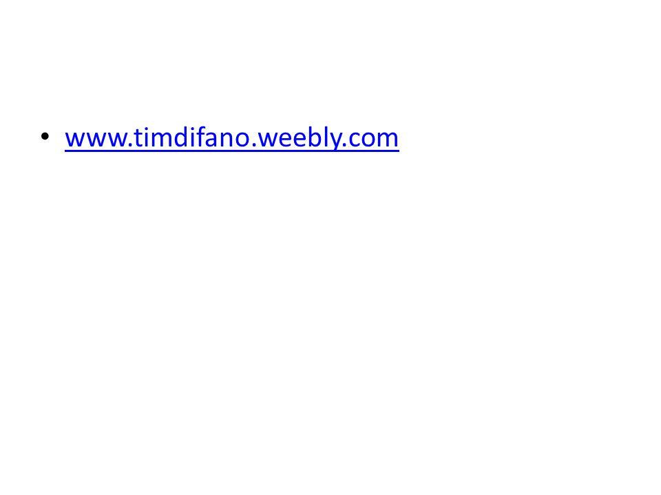www.timdifano.weebly.com