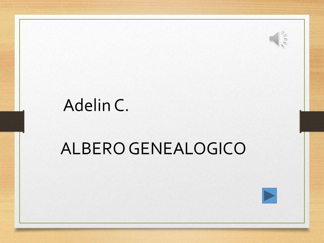 Adelin C. ALBERO GENEALOGICO